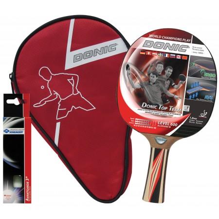 Набор для пинг-понга Donic Waldner 600 Gift set (ракетка+чехол+3мяча) 5354
