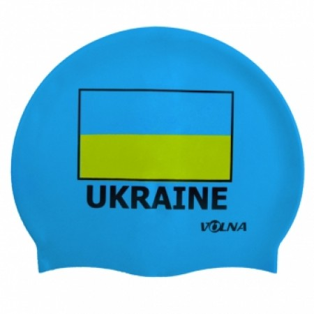 Шапочка для плавания Volna Ukraine Cap 2031-00 2606
