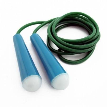 Скакалка детская VV-2646 (PVC,пластик. ручки, дл.1.8м,) 2649