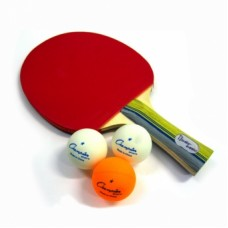 Набор для настольного тенниса Пин-понг в чехле + 3 шарика