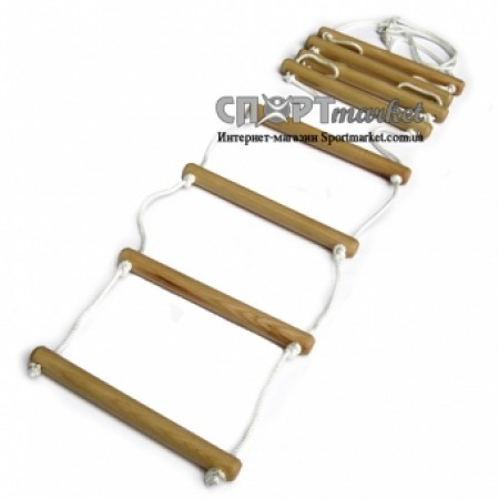 Веревочная лестница из ясеня 3322