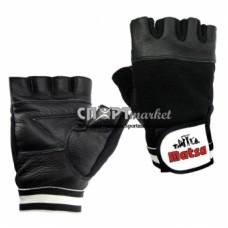 Перчатки штангиста кожанные Matsa