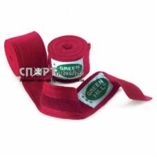 Бинт боксерский Green Hill Cotton 4,5м BC-6235