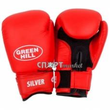Перчатки боксерские Green Hill Silver BGS-2039