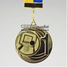 Медаль золотая за первое место