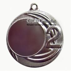 Медаль серебреная за второе место