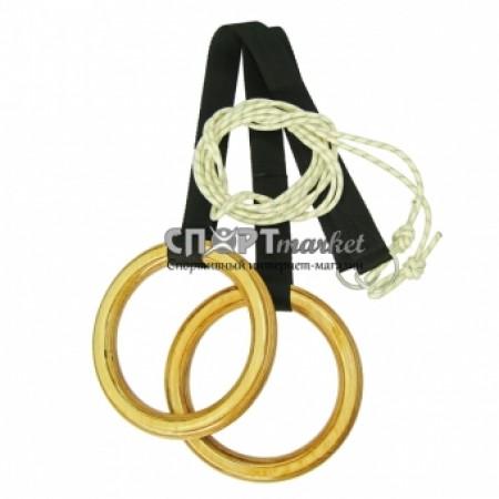 Кольца гимнастические Profi 4211