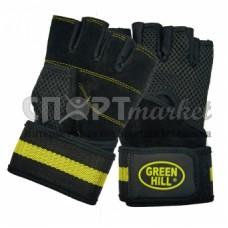 Перчатки вело/тяжелоатлетические Green Hill WLG-6430