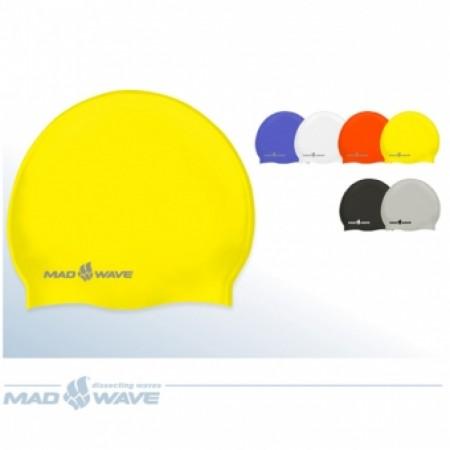 Шапочка для плавания Mad Wave Intensive Silicone M0535 01 0 00W 4362