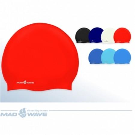 Шапочка для плавания Mad Wave Standard Silicone M0534020 4366