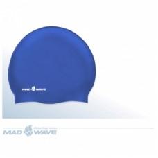 Шапочка для плавания Mad Wave Silicone Junior Solid