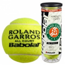 Мячи для тенниса BABOLAT Balls French Open All Court x 3 502021
