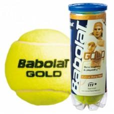 Мячи для тенниса BABOLAT Balls Gold Pet x 3 104161