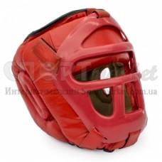 Шлем боксерский Reyguard с маской (кожа) RHGF-01