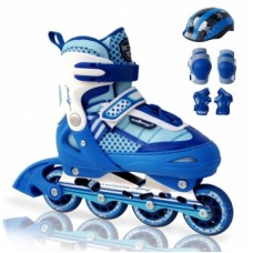 Роликовые коньки Amigo Combo Comfortflex Blue