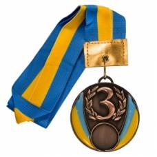 Медаль С-2528 бронза 50 мм