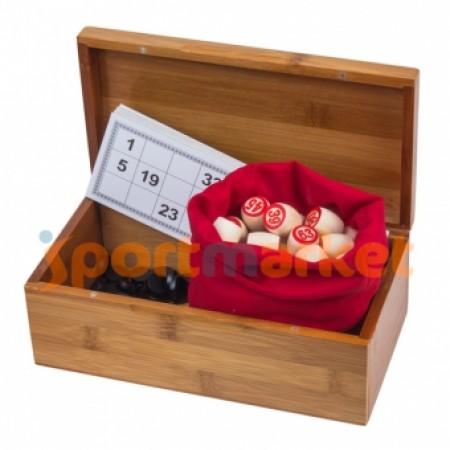 Русское лото в деревянном футляре XL B9090 4213