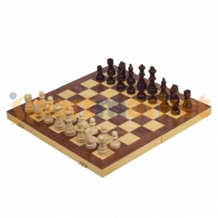 Шахматы деревянные большие 400x400x50 мм 5164