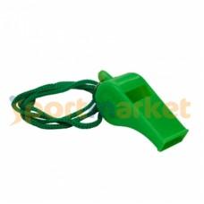 Свисток пластиковый на шнурке