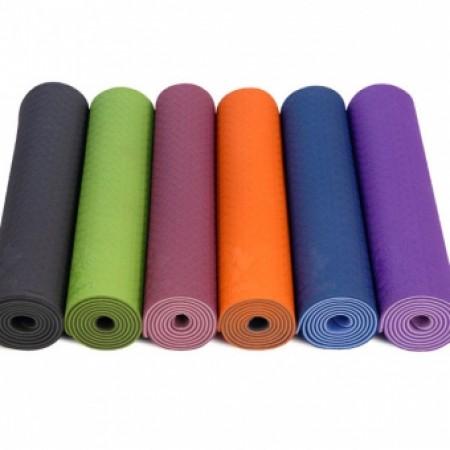 Коврик фитнеса и йоги 6 мм FI-3046 5320