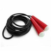 Скакалка VV 2650 (PVC,пластик. ручки, дл.2.8м)