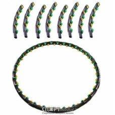 Обруч массажный антицеллюлитный Hoop Double Grace Magnetic JS-6002