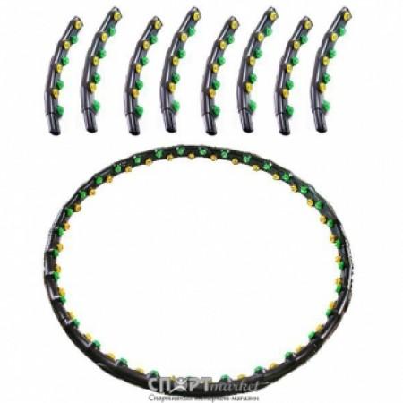 Обруч массажный антицеллюлитный Hoop Double Grace Magnetic JS-6002 2651