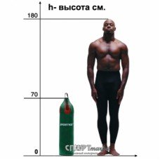 Мешок боксерский Sportko Шлемовидный МП-8
