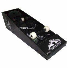 Скейтборд в сборе Velosity с комплектом защиты