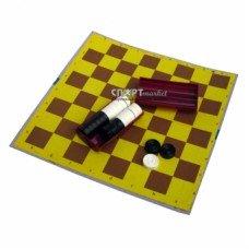 Набор шашек с игральной доской