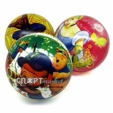Мяч резиновый с рисунком d20 см.