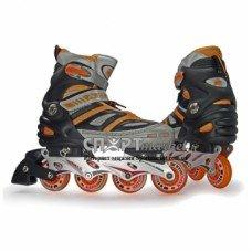 Роликовые коньки раздвижные Kepai SK-28002 Orange