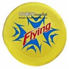 Летающая тарелка фризби тканевая большая