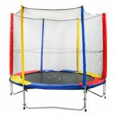 Батут Free Jump с сеткой 244 см
