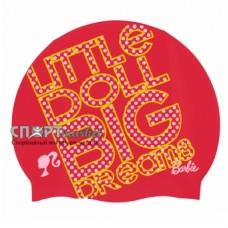Шапочка для плавания детская Arena Barbie Silicone FW11 91672