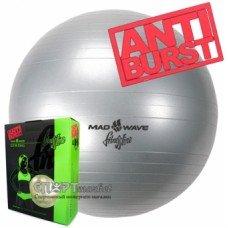 Мяч для фитнеса Mad Wave антиразрыв d75 см M1311 01 30