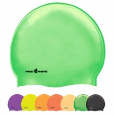 Шапочка для плавания Mad Wave Neon Silicone Solid M0535 02 0 00W