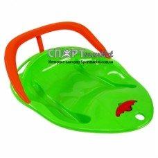 Санки пластиковые Kimet Slider Sprint со спинкой