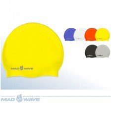 Шапочка для плавания Mad Wave Intensive Silicone M0535 01 0 00W