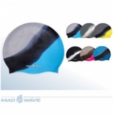 Шапочка для плавания Mad Wave Multi Silicone M0536 10 0 00W