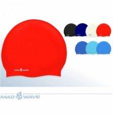 Шапочка для плавания Mad Wave Standard Silicone M0534020