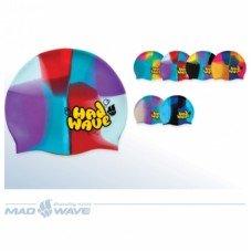 Шапочка для плавания Mad Wave Multi Jr