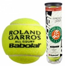 Мячи для тенниса BABOLAT Balls French Open All Court x 4 502022