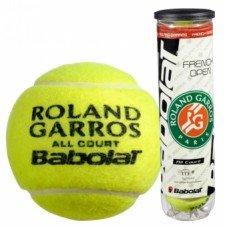 Мячи для тенниса BABOLAT Balls French Open All Court x 4 502022