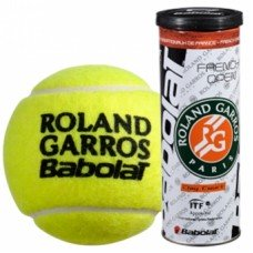 Мячи для тенниса BABOLAT Balls French Open Clay Court x 3 502020