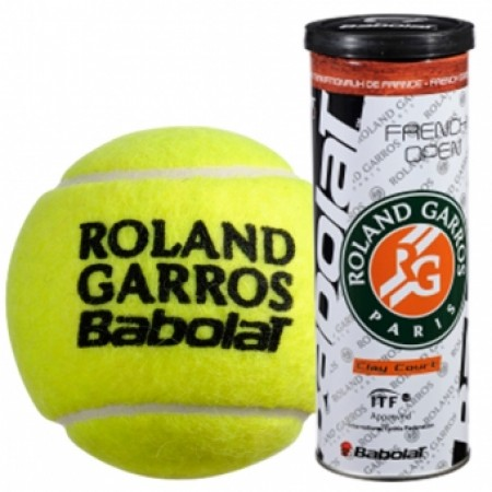 Мячи для тенниса BABOLAT Balls French Open Clay Court x 3 502020 4539