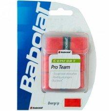Обмотка для теннисных ракеток BABOLAT Pro Team x 3 red 653011
