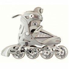 Роликовые коньки раздвижные СК Ultra Silver