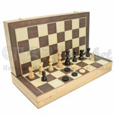 Набор шахматы, шашки, нарды (Китай)
