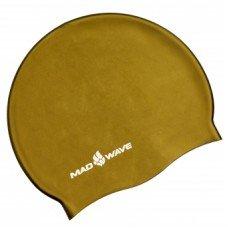 Шапочка для плавания Mad Wave Metal Solid Silicone M0535050